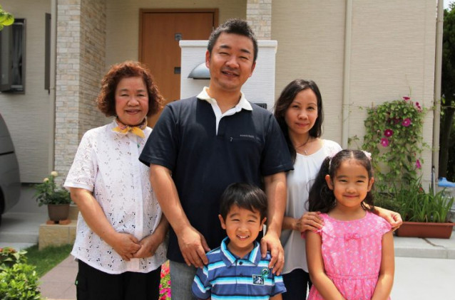 """家族みんなの生活リズムを大切にした""""二世帯住宅"""""""