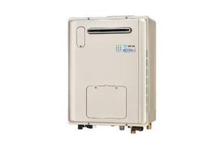 給湯時の熱効果を高め、CO2(二酸化炭素)NOx(窒素酸化物)排出も低減した、環境・家計に優しい給湯システム「エコジョーズ」を採用