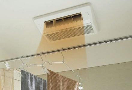 浴室を短時間で温める浴室暖房乾燥機