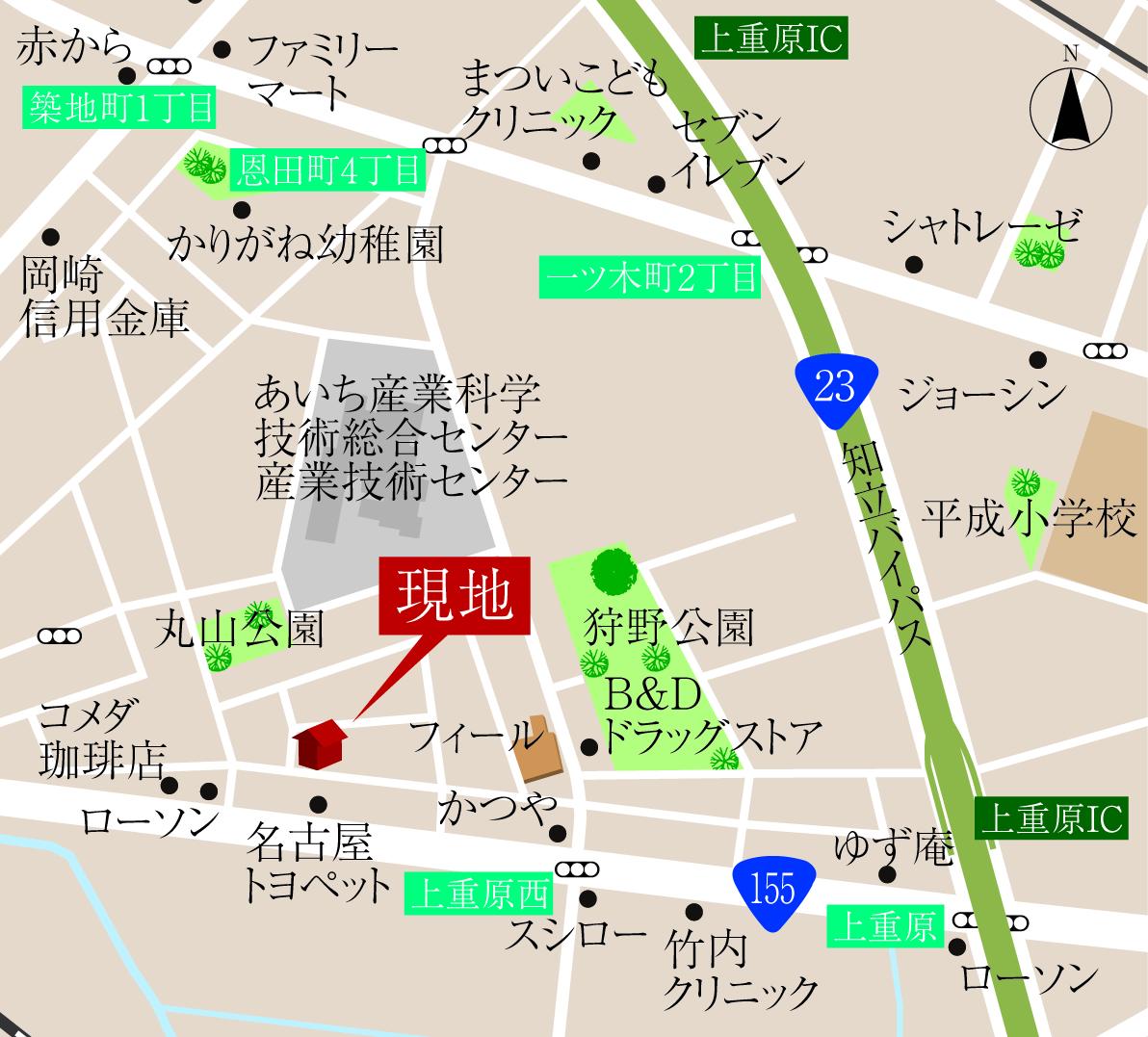 日本、〒448-0013 愛知県刈谷市恩田町1丁目151−7