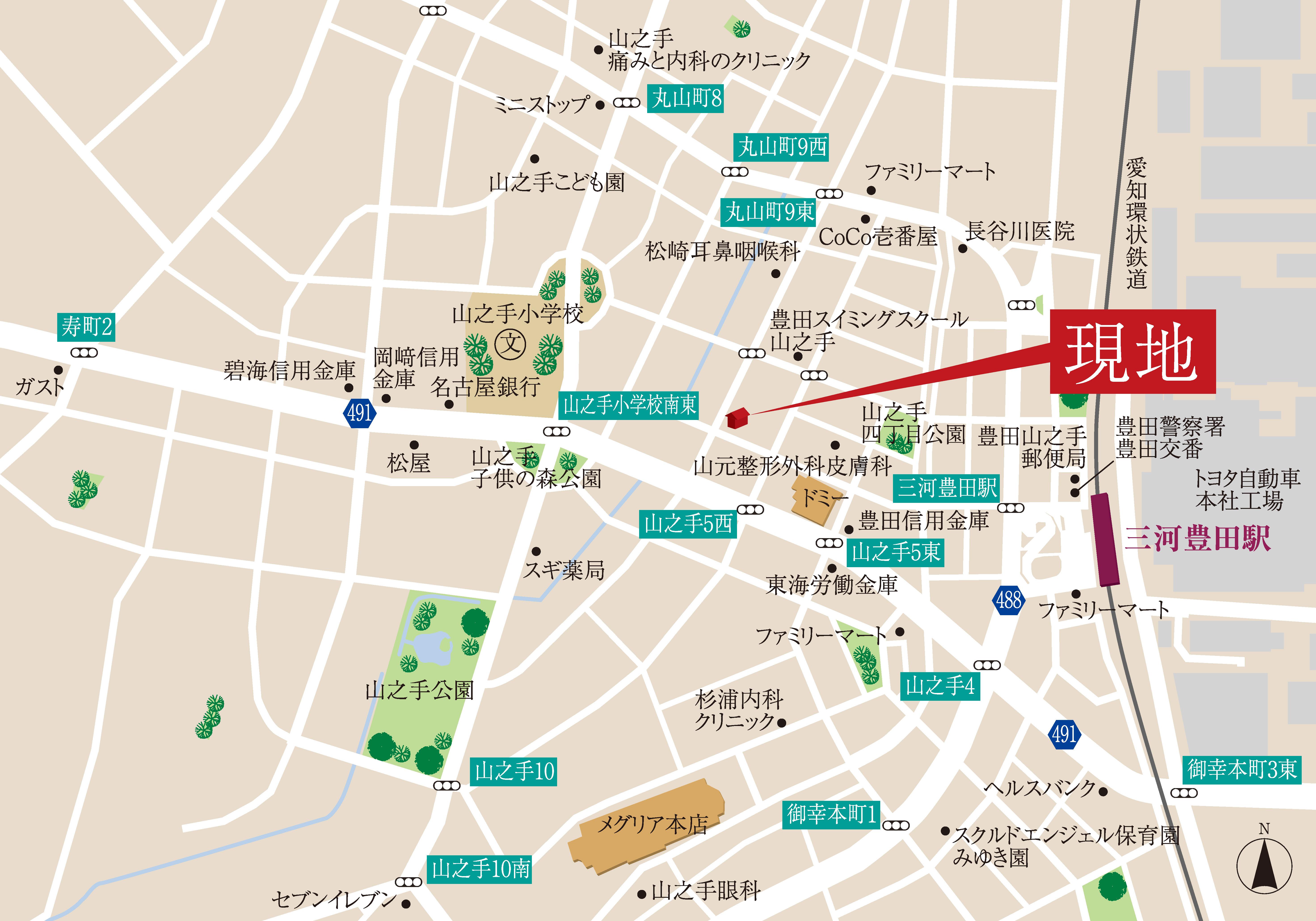 日本、〒471-0833 愛知県豊田市山之手5丁目39−2