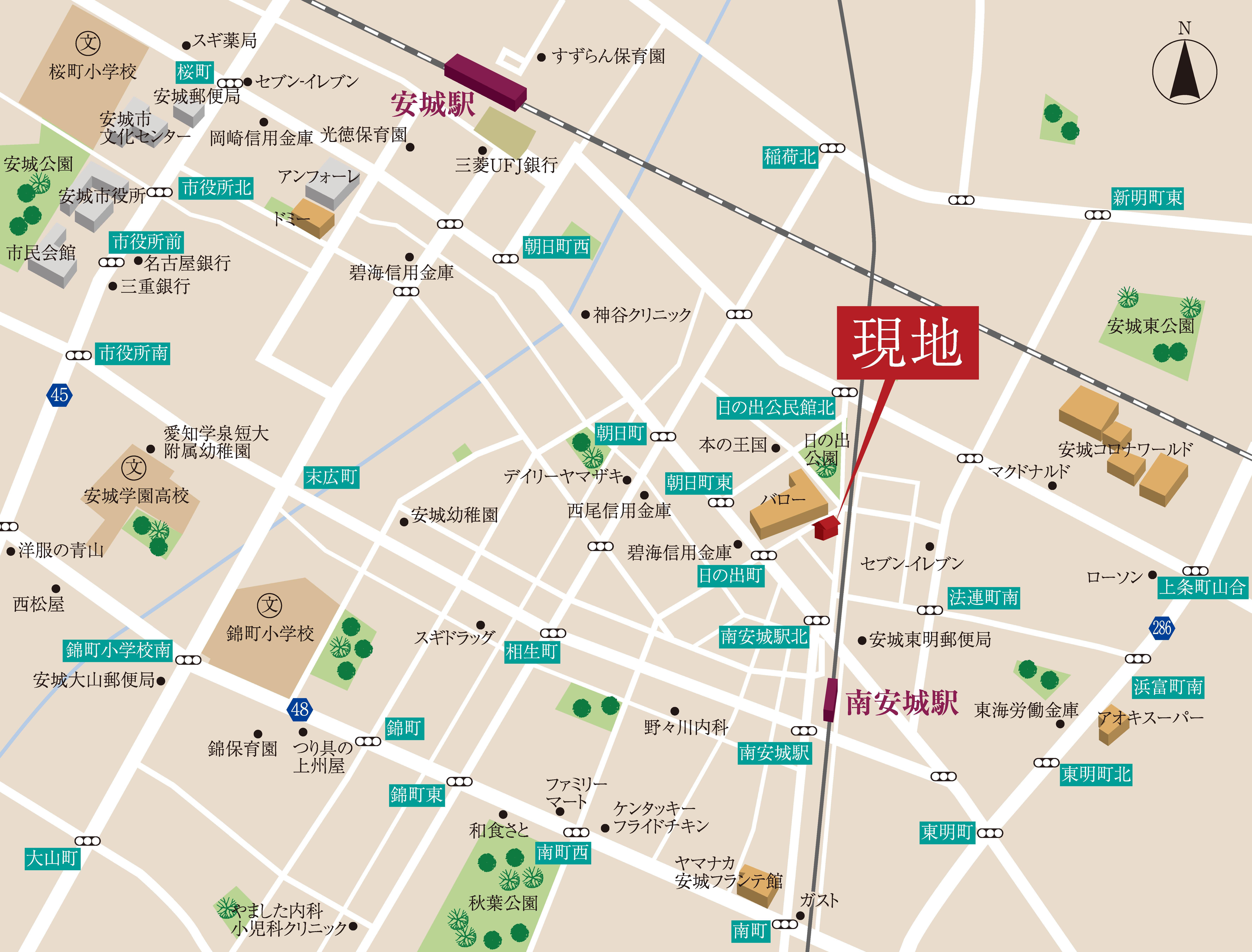 日本、〒446-0033 愛知県安城市日の出町2−27 シェードル・ハイツⅡ