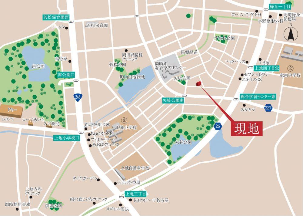 日本、〒444-0823 愛知県岡崎市上地3丁目6−3